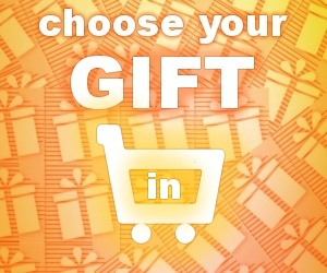 We're giving out GIFTS! Choose yours in shopping cart...